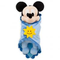 Original Disney Babies Mickey Mouse Plush Doll / Plush Toys 30cm Blue Color Manufactures