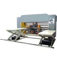 Buy cheap High Speed Carton Box Stitching Machine Double Servo Two Piece Model Semi Auto Grade from wholesalers