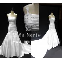 Long tail one-should mermaid backless applique lace wedding dresses BYB-14589 Manufactures