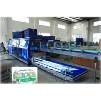 Buy cheap Full Automatic PE Film Heat Shrink Wrapper Liquid Packing Machine For Pet Bottle from wholesalers
