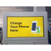 Buy cheap Android Network Cell Phone Charging Stations Lockers With International Socket from wholesalers
