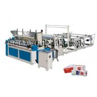 Buy cheap Full Automatic High-Speed Perforating and Rewinder Toilet Paper Machine from wholesalers