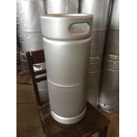 Wholesale stainless steel 20L US beer keg, with micro matic D type spear for brewing from china suppliers