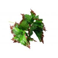 Buy cheap 12 Inch Large Artificial Tree Branches Perilla Frutescens Faux Folium Perillae product