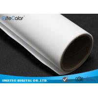 Buy cheap Wide Format Inkjet Printable Canvas , 260gsm Matte Polyester Canvas Fabric from wholesalers