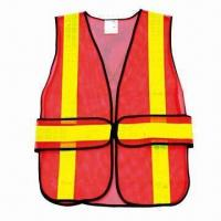 Buy cheap Reflective Safety Vest with Mesh Fabric from wholesalers