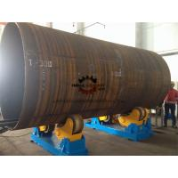 PU Coated Welding Turning Rolls For Pipe / Tank / Wind Tower Production Line