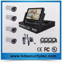 7inch LCD 720P 4ch AHD dvr kit Analog HD camera system Manufactures