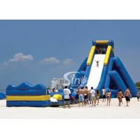Buy cheap Giant hippo inflatable water slide for adults with pool ended from China inflatable manufacturer from wholesalers