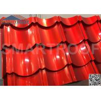 1m Wide Synthetic Plastic Metal Roof Sheets 0.526mm Thickness Easy Foaming Manufactures