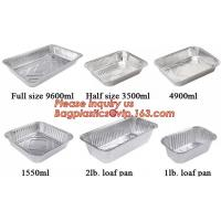 Buy cheap aluminum foil container / tray / lunch box for food packing,Takeaway oven safe fast food take out disposable aluminum fo from wholesalers