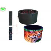 Buy cheap Soft Full Color RGB Stage LED Screens , Rolling flexible led screen panel 3G WIFI Control from wholesalers