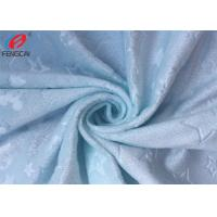 Buy cheap Custom Embossed Polyester Minky Plush Fabric Velour Upholstery Material from wholesalers