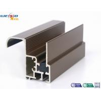 Buy cheap Aluminum Construction Profiles Sliding Windows With Coffee Powder Coated / Double Glazed from wholesalers