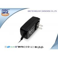 Buy cheap Black US Style AC To DC Power Adapter , 3D Printer 12 Volt AC DC Adapter from wholesalers