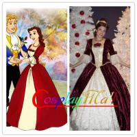 Buy cheap Wholesale Beauty and the Beast Dress Princess Belle Dress Belle Cosplay Costume Cartoon from wholesalers