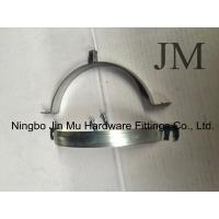 Buy cheap Corrosion Resistance Industrial Hose Clamps With White Zinc Galvanized M8 / M10 Nut from wholesalers