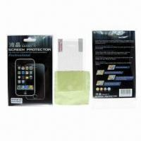 Buy cheap Dust-proof Screen Protectors for Apple's iPhone 4G, with High Transparency and Anti-fingerprint from wholesalers