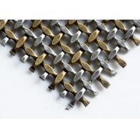 China Crimped Type Weave Architectural Metal Screen With Stainless Steel or Aluminum on sale