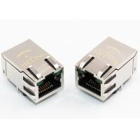 Buy cheap R / A 1000 Base - T Integrated Magnetics RJ45 , Ethernet Lan RJ45 Connector from wholesalers