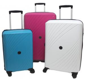 Wholesale Anti Theft Zip ODM Silk Lining PP Trolley Luggage from china suppliers