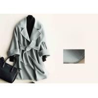 Buy cheap Soft Warm Handmade Wool Coat , Ladies Tailored Wool Coat Many Colors Available product