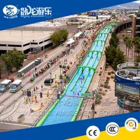 Buy cheap Super quality inflatable water slip n city slide for adults from wholesalers