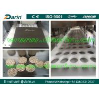 Wholesale Swelled candy rice / peanut bar making machine , Continuous & automatic granola bar machine from china suppliers