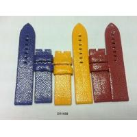 Buy cheap 16mm 18mm 20mm 22mm Stingray Leather Watchband Blue, Red, Yellow, Custom Watch Band Strap from wholesalers