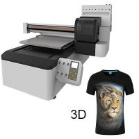 Buy cheap Glass, Plastic and All Materials Is No Problem, 3D Effect, Cheapest 60cm X 90cm UV Digital Printer from wholesalers