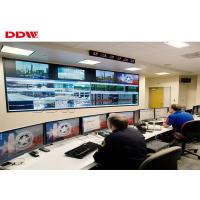 Buy cheap Seamless lcd video wall  55inch Samsung curved monitor 500nits brightness DDW-DV55FHM-NS0 from wholesalers