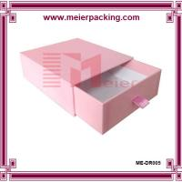 Buy cheap wholesale slide pull out rigid custom paper pink gift box luxury boxes ME-DR005 from wholesalers