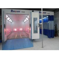 Workshop Full Down Draft Infrared Paint Booth Combined Prep Station Energy Saving