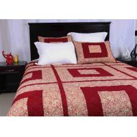 Buy cheap Polyester / Cotton Bedspread And Coverlets Machine Quilting With Different Size from wholesalers