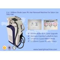 Buy cheap Pain Free 808nm Diode Laser Hair Removal Machine Stationary Style 2000W from wholesalers