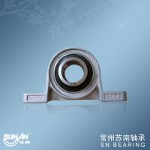 High Precision Zinc Alloy Pillow Block Bearings , Plummer Block Bearing Housing KP004