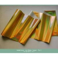 China Gold Foiling Holographic Hot Stamping Foil Greeting Card Printing on sale