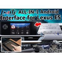 Buy cheap Lexus ES Android Video  Interface Control by OEM  Knob , Touch Sensor Board ,  Mouse 4- Core A9 Processor from wholesalers