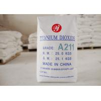 Buy cheap High Dispersion General Anatase Grade Titanium Dioxide A211 Match F3200 E171 from wholesalers