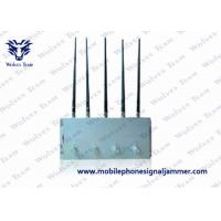 Compact Design Cell Phone Jammer Kit , Mobile Phone Blocking Device GSM CDMA DCS 3G