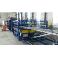 Buy cheap S Connect Style Sandwich Panel Machine Multiple Functional High Efficiency Low Noise from wholesalers