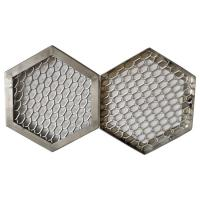 Buy cheap Silver Roll Type Expanded Metal Mesh Skid Resistant Anti corrosion Customized Size from wholesalers