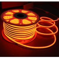 Wholesale orange 12v mini led neon flex light 7x15mm replacement neon tubes 2835 smd flexible strip rope ip68 injection from china suppliers