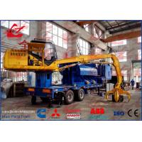 Buy cheap Portable Hydraulic Scrap Car Steel Aluminum Copper Baler Logger Baling Press Compactor For Steel Factory from wholesalers