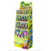 Buy cheap Easy-Assemble Cardboard Pop Candy Display Stands For Retail Store With Varnish from wholesalers