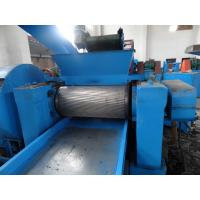 Wholesale Double Shaft Tyre Crushing Machine Broken 50 - 300 mm Of Plastic Block from china suppliers
