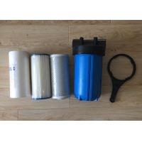 Buy cheap 10 Inch Water Filter Housing  Polypropylene Big Blue Jumbo Blue with Air Release from wholesalers