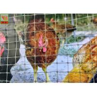 Buy cheap Polypropylene Plastic Poultry Netting , Garden Plastic Mesh Fencing 30 M / Roll from wholesalers