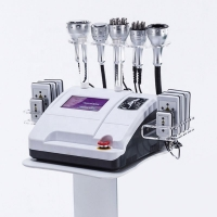 Buy cheap 40K Ultrasonic Tripolar Lipo Laser Cavitation RF Vacuum Body Slimming Machine from wholesalers
