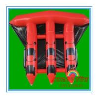 Buy cheap Red 0.9mm PVC Inflatable Boat For Sea , Adult Inflatable Fly Fishing Boats(CY-M2728) from wholesalers
